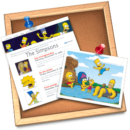 Iweb Simpsons Sticker