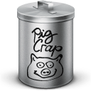 Pig Crap Sticker