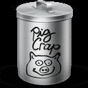 Pig Crap Sticker