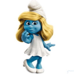 Smurfette Sticker