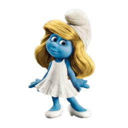 Smurfette 2 Sticker