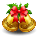 Christmas Bell Stickers