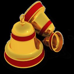 Xmas Bells Sticker