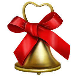 Christmas Bell Sticker