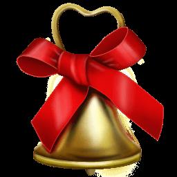 Christmas Bell Sticker