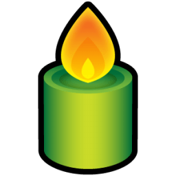 Candle 2 Sticker