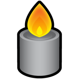 Candle 4 Sticker