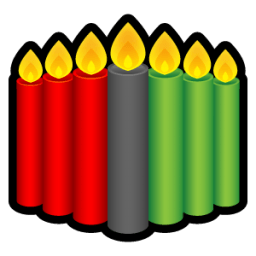 Kwanzaa Candles Sticker