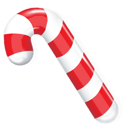 Candy Cane Sticker