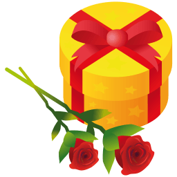 Gift Rose Sticker