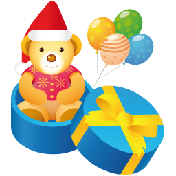 Teddy Gift Sticker