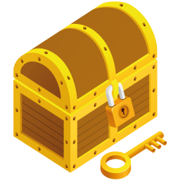 Treasure Chest Sticker