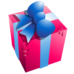 Gift Box Sticker