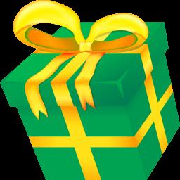 Christmas Present Sticker