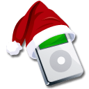 Ipod Santaclaus Sticker