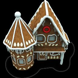 Candy House Sticker