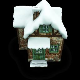 Little House Sticker