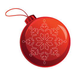 Christmas Bauble Sticker