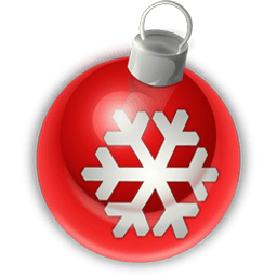 Christmas Ornament 1 Sticker