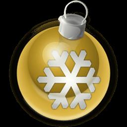 Christmas Ornament 2 Sticker