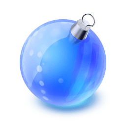 Christmas Ball Sticker
