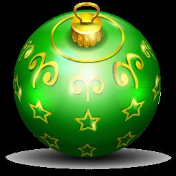 Christmas Tree Ball 2 Sticker