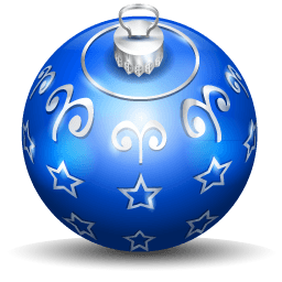 Christmas Tree Ball 3 Sticker