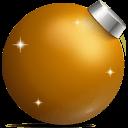 Golden Ball Sticker