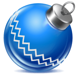 Ball Blue 1 Sticker