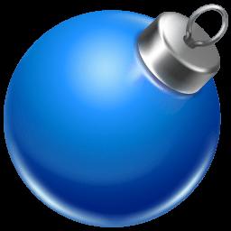 Ball Blue 2 Sticker