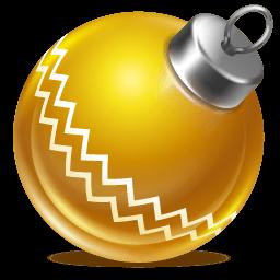 Ball Yellow 1 Sticker