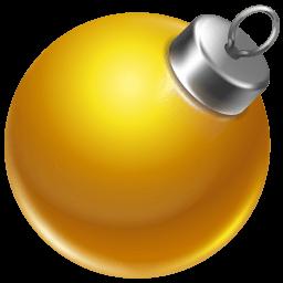 Ball Yellow 2 Sticker