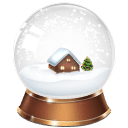 Snowglobe Sticker