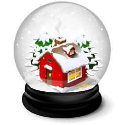 Christmas House Sticker