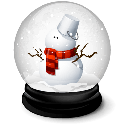 Christmas Snowman Sticker