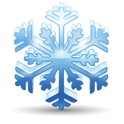 Snowflake Sticker