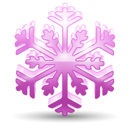 Snowflake 3 Sticker