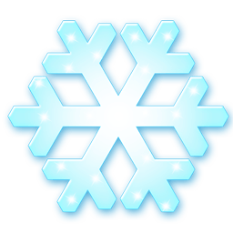 Snow Flake Sticker