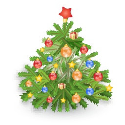 Xmas Tree Sticker