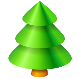 Christmas Tree 2 Sticker