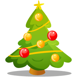 Christmas Tree Sticker