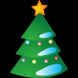 New Year Tree Sticker