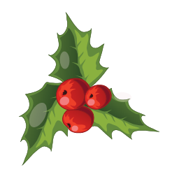 Christmas Mistletoe Sticker