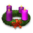 Advent Wreath Sticker