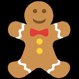 Gingerbread Man Cookie Sticker
