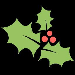 Holly Leaf Sticker