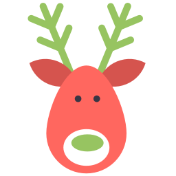 Reindeer Deer Sticker
