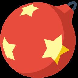 Christmas Ball Sticker