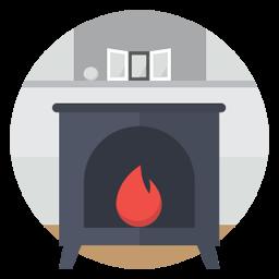 Fire Stove Sticker