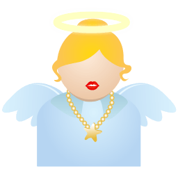 Angel Sticker